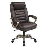 "25"" Back Leather Executive Chair"