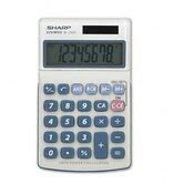 EL-240SB Business/Handheld Calculator, Eight-Digit LCD