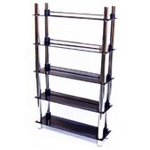 5 Tier DVD Blu-ray / CD / Media Storage Shelves