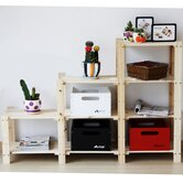 Three Tier Stepped Storage Shelf