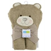 Just Born Character Bear Hooded Towel
