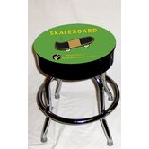 Busted Knuckle Garage Kid's Swivel Skateboard Stool