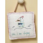 """Shh..I am Sleeping"" Living Life Door Hanger"