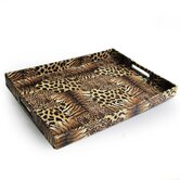Animal Patch Rectangular Serving Tray