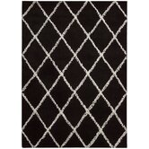 Monterey Black/White Rug