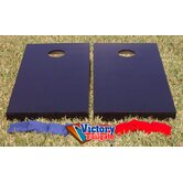 Matching Solid Colors Cornhole Bean Bag Toss Game