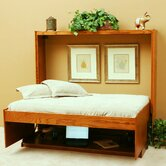 Contemporary Oak Murphy Bed