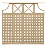 4 High Privacy Lattice X Arch Panel