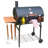 Pro Deluxe Charcoal Grill