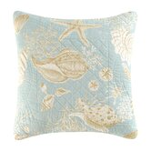 Natural Shells Quilt Pillow