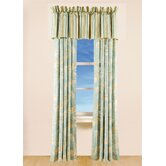 Natural Shells Drapes &amp; Valance Set