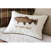 Elk River Trout Pillow