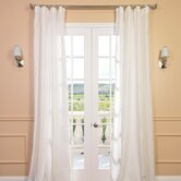 Signature Lace French Linen Sheer Curtain Panel