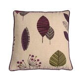 Cleo Cushion Cover in Aubergine