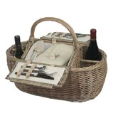 4 Person Boat Hamper Picnic Basket
