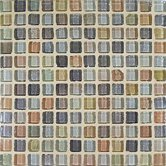 "Fashion 1"" x 1"" Glass Mosaic in Mix Fashion Beige"