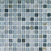"Fashion 1"" x 1"" Glass Mosaic in Mix Fashion Grigio"