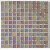 "Metallica Satin 1"" x 1"" Glass Mosaic in Vinaccia Metallica Satin"