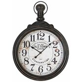"39"" Pocket Watch Style Large Wall Clock"