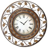 36&quot; Decorative Iron Wall Clock