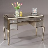 Collette Mirrored Writing Desk