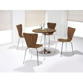 Elipse Trumpet Base Table with Optional Picasso Bistro Chair