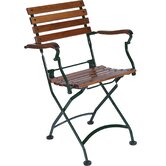 European Café Folding Armchair