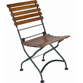 European Grande Café Folding Side Chair