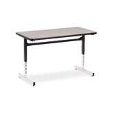 8700 Series Computer Table with 24&quot; x 48&quot; Top