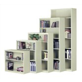 "52"" H Steel Four Shelf Bookcase"