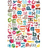 Alphabet Wallstickers