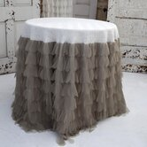 Chichi Petal and Jute Tablecloth