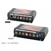 Professional  Component Video with Analog/Digital Audio Cat5/6/7 Extender