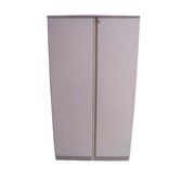 "Trace 36"" Double Door 5-High Storage Cabinet with Shelf"