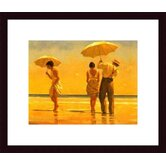 Mad Dogs by Jack Vettriano Wood Framed Art Print