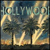 Hollywood Night Gallery Wrapped Canvas Art