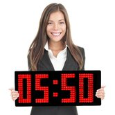 Spectacular Unique Digital Wall Clock