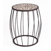 Mosaic Speckled Hen Cage Side Table