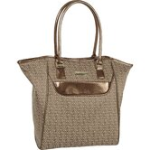 "Signature Jacquard 15"" Tote Bag"