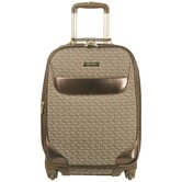 "Signature Jacquard 20"" Expandable Spinner Suitcase"
