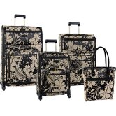 Gem 4 Piece Luggage Set