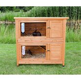2-in-1 Rabbit Hutch