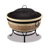 Magnesia Rattan Wicker Fire Pit