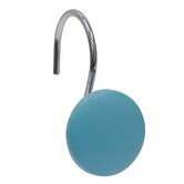 Bathroom Sets Round Shower Curtain Hook in Blue