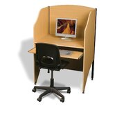 Laminate Add-A-Carrel Study Carrel Add On