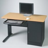 LX Computer Workstation with Locking CPU Holder