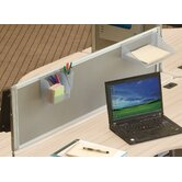 "iFlex 17"" H x 49"" W Full Desk Privacy Panel"