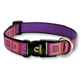 "Ruby Cube 1"" Adjustable Dog Collar"