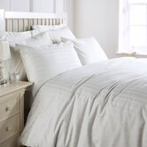 Luxury Bedding 300 Thread Count Sateen Stripe Duvet Set