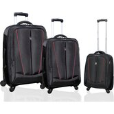 Silhouette &quot;Heavy-Duty&quot; 3 Piece Luggage Set